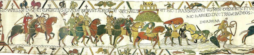 what is the bayeux tapestry