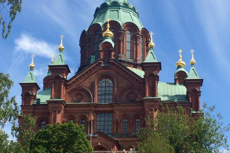 Uspenski Cathedral, Finnish Orthodox Cathedral, Helsinki