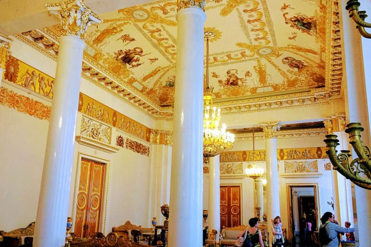 Ornate Neoclassical Interior