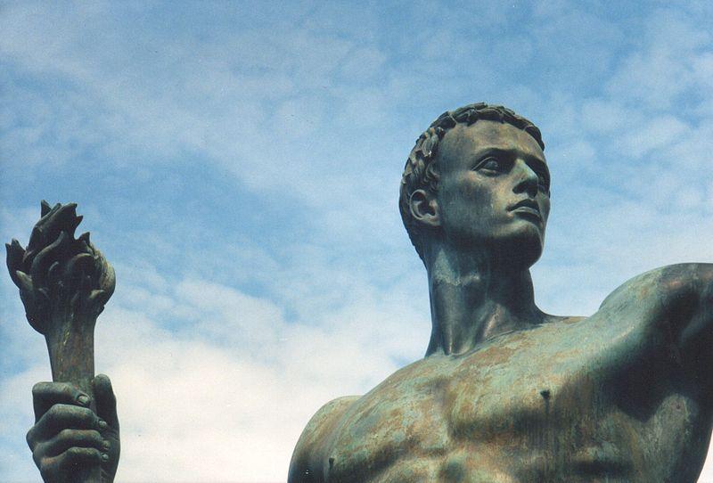 Arno Breker sculpture of idealized male form