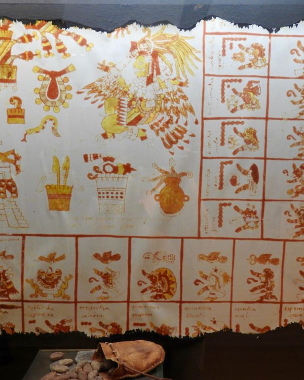 Reproduction of Aztec drawing?