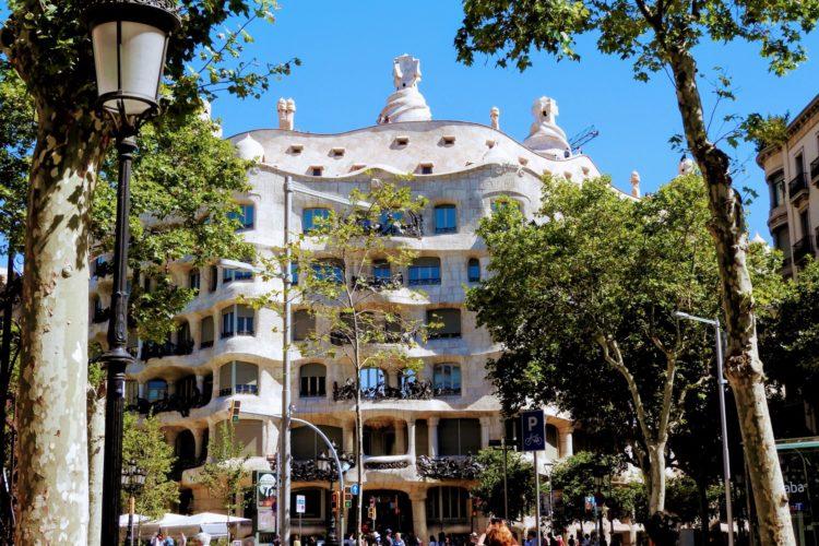 Modernisme House In Barcelona